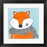 Super Animal - Fox Framed Print