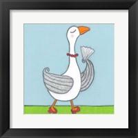 Super Animal - Goose Framed Print