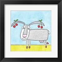 Framed Super Animal - Goat