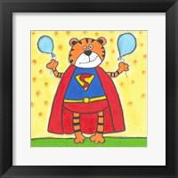Framed Super Animal - Tiger