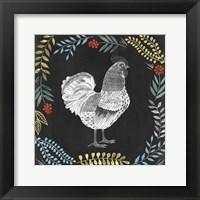 Chalkboard Farmhouse II Framed Print