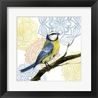Mandala Bird I Framed Print