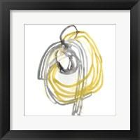 String Orbit II Framed Print