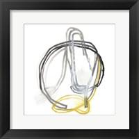 String Orbit IV Framed Print