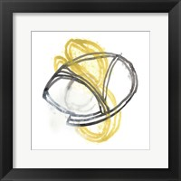 String Orbit VI Framed Print