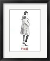 Framed Fashion Week Sketch II