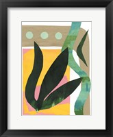 South Beach I Framed Print