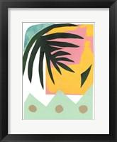 South Beach II Framed Print