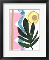 South Beach III Framed Print