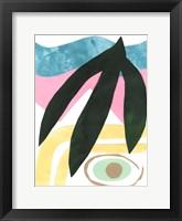 South Beach IV Framed Print