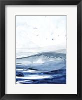 Azure Arctic II Framed Print