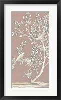 Framed Sweet Chinoiserie I