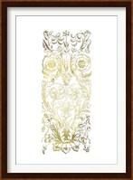 Framed Gold Foil Renaissance Panel II