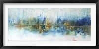 Framed Aqua Azul