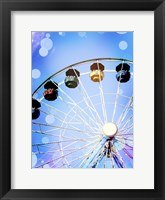 Framed Carnival Blues II