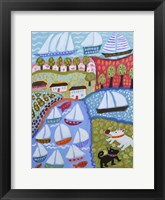Framed Dogs & Sailboats