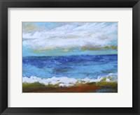 Beach & Sky II Framed Print