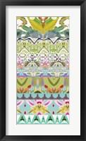 Border Boho I Framed Print