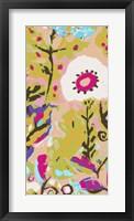 Pink Boho Floral II Framed Print