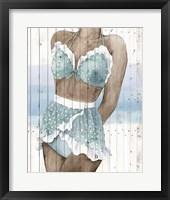 Framed Bygone Bathers I