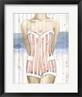Framed Bygone Bathers II