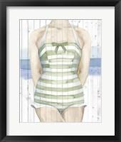 Framed Bygone Bathers IV