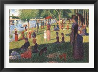 Framed Sunday on La Grande Jatte