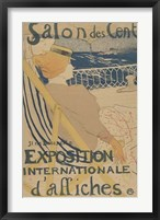 Framed Salon des Cent-Exposition Internationale d'affiches