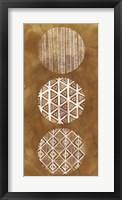 Tribal Pattern I Framed Print