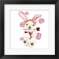 Valentine Puppy I Framed Print