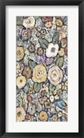 Framed Decorative Flowers II