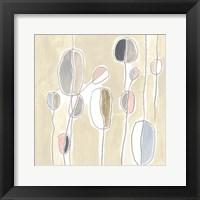 String Garden III Framed Print