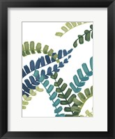 Tropical Thicket I Framed Print