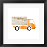 Framed Truck With Paint Texture - Part III
