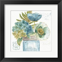 Framed My Greenhouse Bouquet III