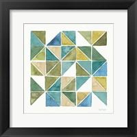 My Greenhouse Geo II Framed Print
