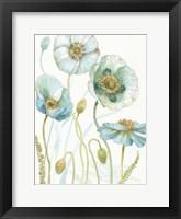 Framed My Greenhouse Flowers VII