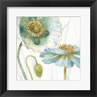 Framed My Greenhouse Flowers V