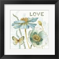 Framed My Greenhouse Flowers Love