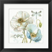 Framed My Greenhouse Flowers Hope