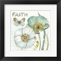 Framed My Greenhouse Flowers Faith