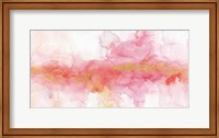 Framed Rainbow Seeds Abstract Gold