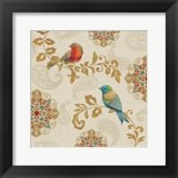 Framed Bird Rainbow IIIA