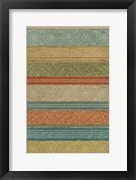 Framed Batik Stripes II