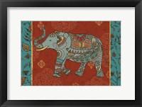 Framed Elephant Caravan IIM
