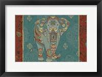 Framed Elephant Caravan IB