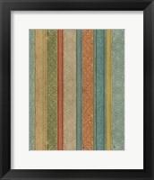 Framed Tribal Dots Color Pattern