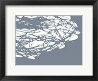 Framed Brighter Nest Grey White