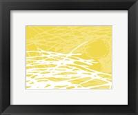 Framed Brighter Nest Yellow