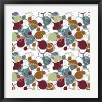Framed Funky Circles I Pattern